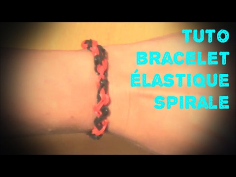 elastique spirale bracelet videolike. Black Bedroom Furniture Sets. Home Design Ideas