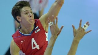 The best volleyball player in the EG: Victor Poletaev