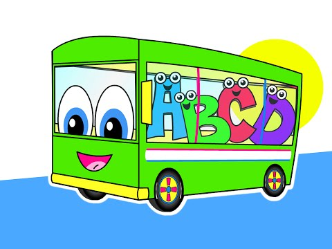 The Wheels On The Bus | Part 2 | Nursery Rhymes | HD Green Bus...