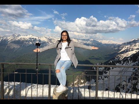 Едем с Нитт в Сочи на Роза Хутор. Потрясающие горы и канатная дорога. Красная поляна, Россия