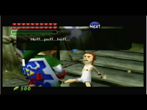 Misc Computer Games - Legend Of Zelda - Ocarina Of Time - Kokiri Forest