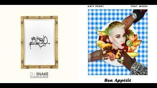 DJ Snake & AlunaGeorge vs. Katy Perry ft. Migos - You Know You Like It, So Bon Appétit