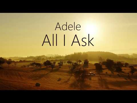 Download Lagu  Adele - All I Ask S Mp3 Free