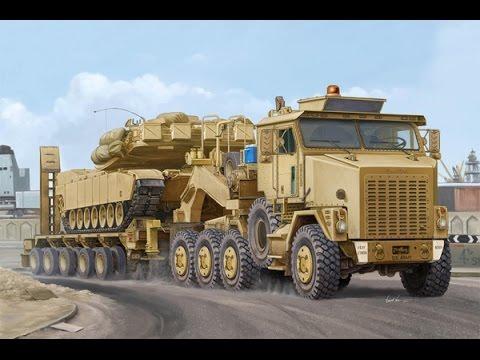 Мегамашины   Самый большой в мире танковый тягач Oshkosh M1070