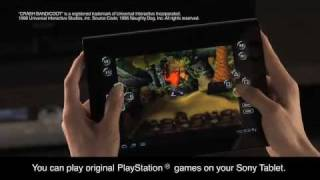 NEW Sony Tablet S_ Gaming How to.  MUST SEE!!