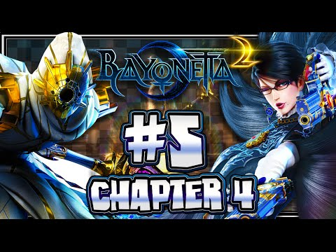 Bayonetta 2 Wii U (1440p) Part 5 - Chapter 4