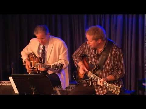 Dave Stryker and Vic Juris at the Iridium 2011 Part 1