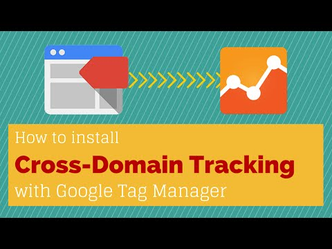 Cross Domain Tracking with Google Tag Manager and Google Analytics