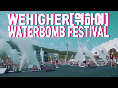 k-pop n Bassmusic Korea Festival Waterbomb with Wehigher