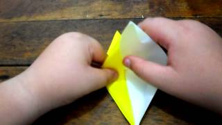 How To Make A Origami Tsuru