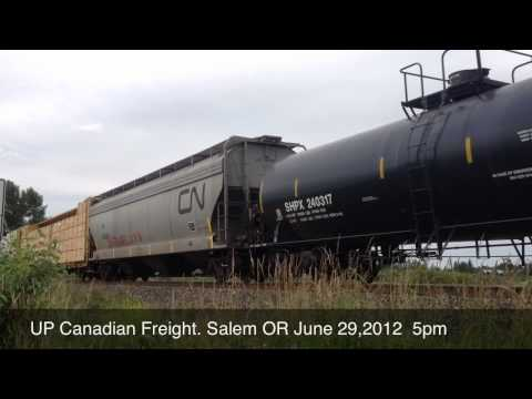 Union Pacific  QPDRV Mixed Freight From Canada South to Roseville