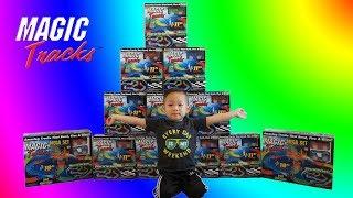 Longest Magic Tracks Mega Build Over 1500 Feet Toy Challenge