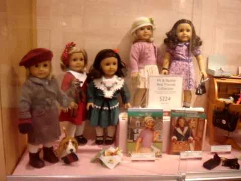 Stephenswodadancer's Tour of the American Girl Place Dallas Texas!
