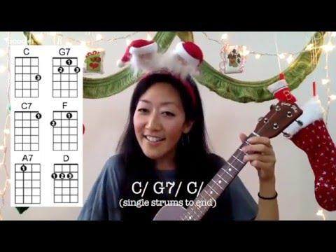 Mele Kalikimaka // Easy Ukulele Holiday Play-along