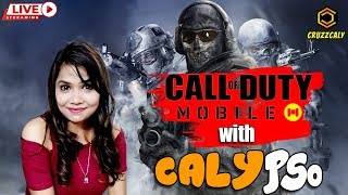 Call of Duty Mobile Live | Gaming with CALYPSO | Download Link-Check Description