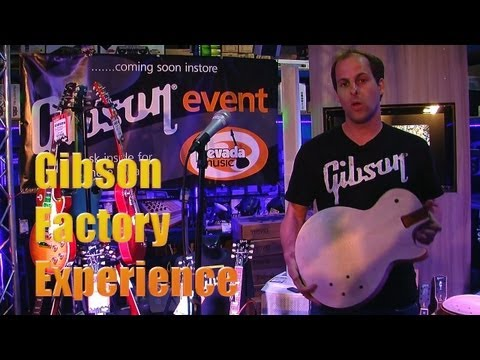 Gibson Factory Experience Tour 2013 Live at Nevada Music UK