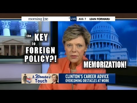 Cokie Roberts: Hillary is Amazing at Foreign Policy Because She Memorized Potholes