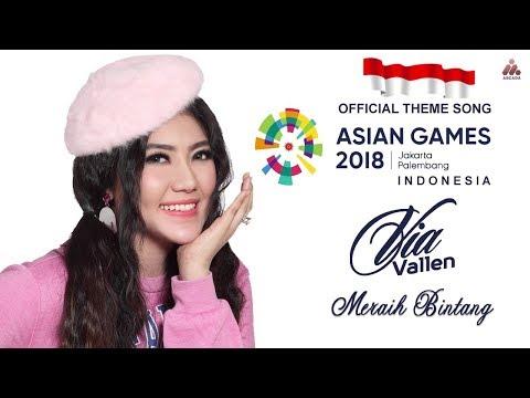 Meraih Bintang - Via Vallen   Official Theme Song Asian Games 2018