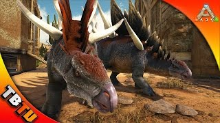 🔥 SCORCHED EARTH KENTROSAURUS TAMING! REX BREEDING! ARK SURVIVAL SCORCHED EARTH GAMEPLAY