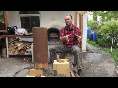 E47 Rocket Mass Heaters: A better burning wood stove