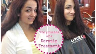 The Process of a Keratin Treatment!