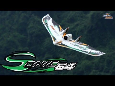 HobbyKing Product Video - Sonic 64 EDF Wing EPO 1230mm (PNF)