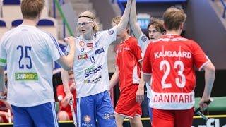 Дания до 19 : Финляндия до 19