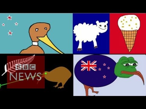 New Zealand selects 40 designs for new flag - BBC News