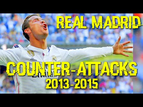 Real Madrid all Counter Attacks 2013-2015 | Compilation | Carlo Ancelotti Team [HD]