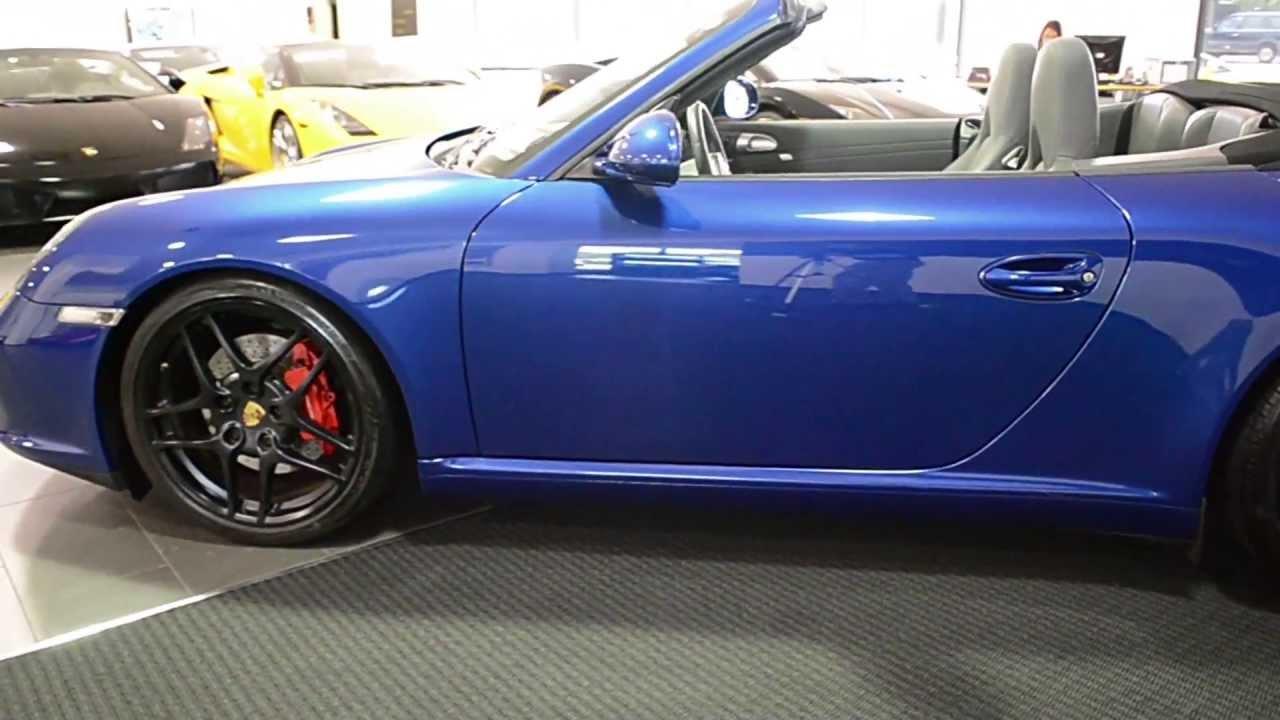 2009 Porsche 911 Carrera S Cabriolet Aqua Blue Lt0513