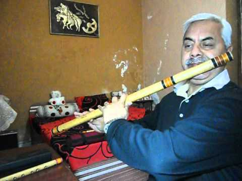 Jaane Kahan Gaye Woh Din : On Flute video