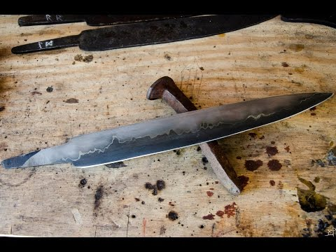Reclaimed: Forging Knives from Railroad Spikes and Lawnmower Blades