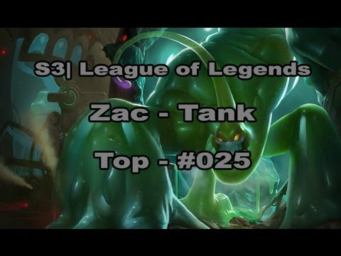 S3 | Zac - Let's Play League of Legends [German] [HD] - #025 Top