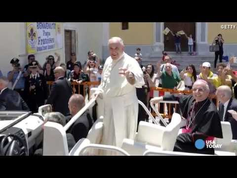 Pope visits mafia heartland | USA NOW