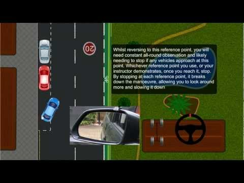Parallel Parking (Reverse Parking) Tips Driving Lesson easy Instruction UK DSA/DVLA Car Test Video