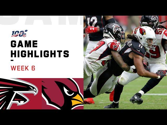 Falcons vs. Cardinals Week 6 Highlights | NFL 2019 thumbnail