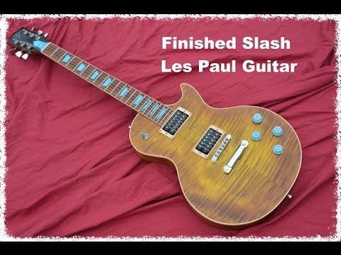 Finished Slash Les Paul Guitar AFD by BigDGuitars