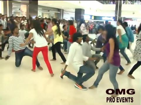 VJIT Flash mob at cinepolis