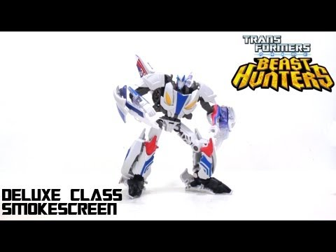 Video Review of the Transformers Prime: Beast Hunters Smokescreen