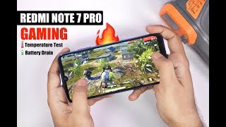 Redmi Note 7 Pro Gaming Review, PUBG Mobile, Asphalt 9, Heating and Battery Usage 🔥