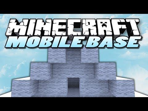 Minecraft Mods – Mobile Base Mod – MOVABLE BASES (Minecraft Mod Showcase)