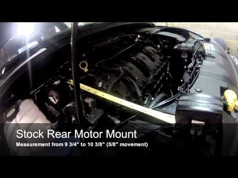 cp-e™ Ford Focus ST Rear Motor Mount vs. Stock mount