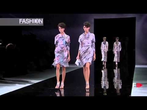 """GIORGIO ARMANI"" Fashion Show Spring Summer 2014 Milan HD by Fashion Channel"