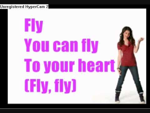 Selena Gomez Fly To Your Heart Karaoke Instrumental video