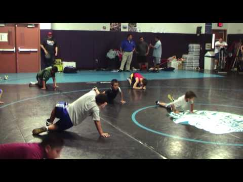 Sprawl Drills Arizona Champions Kids Wrestling Club Practice Image 1