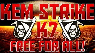 COD Ghosts: KEM Strike no Free for All c/ K7! | Dicas Free for All