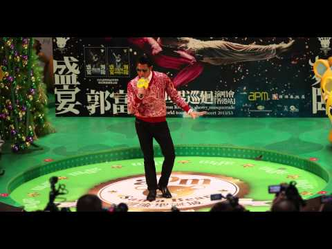 20131225 Aaron Kwok  singing at APM [4KLive]