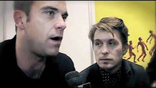Mark Owen, Robbie Williams and Howard Donald Interview
