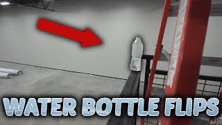 TOP 5 LUCKIEST Water Bottle Flips ( Insane Trick Shots )