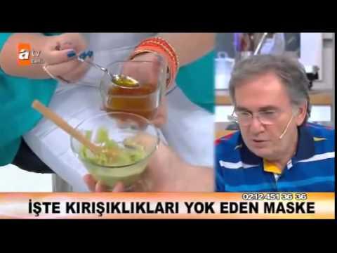 Kırışıklık Ve Leke Giderici Avakado Maskesi - İbrahim Saraçoğlu
